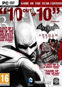 Batman: Arkham City Game of the Year Edition PC Full Español