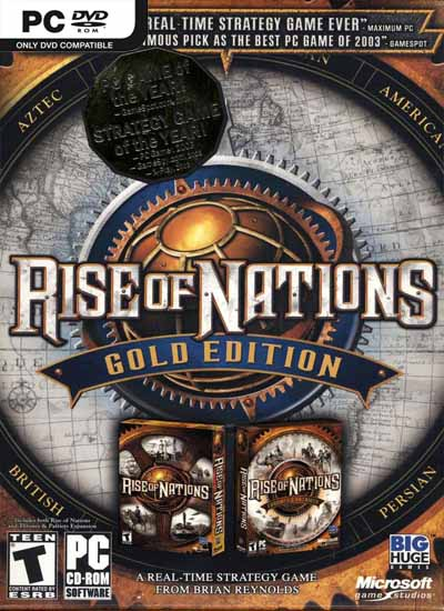 Resultado de imagen para Rise of nations gold edition